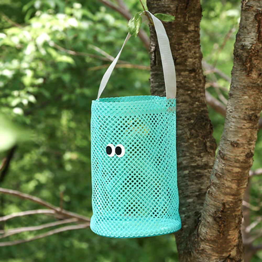Mint - Som Som stitch mesh tote bag