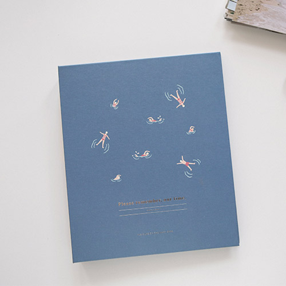 Swimming - Remember our time self adhesive photo album