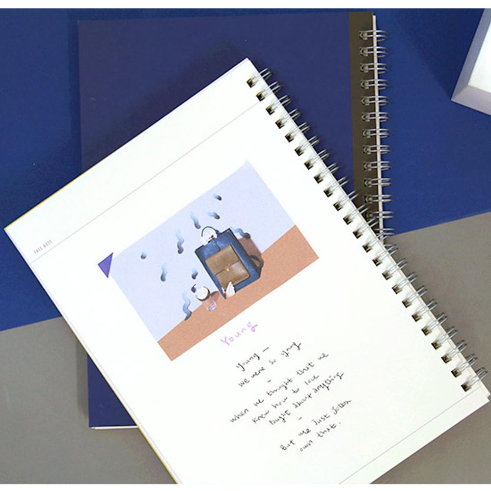 Free note - Agenda spiral undated planner