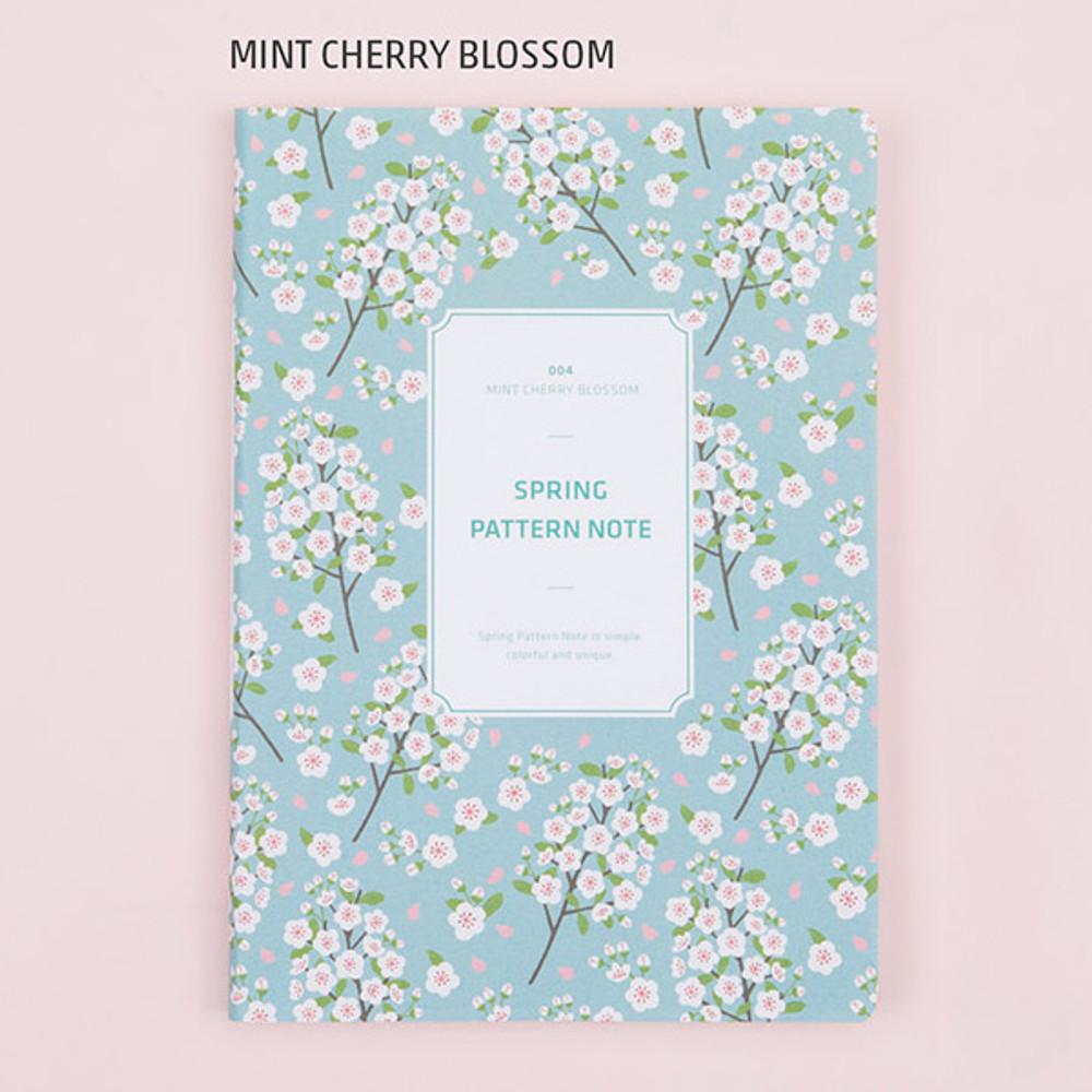 Mint cherry blossom