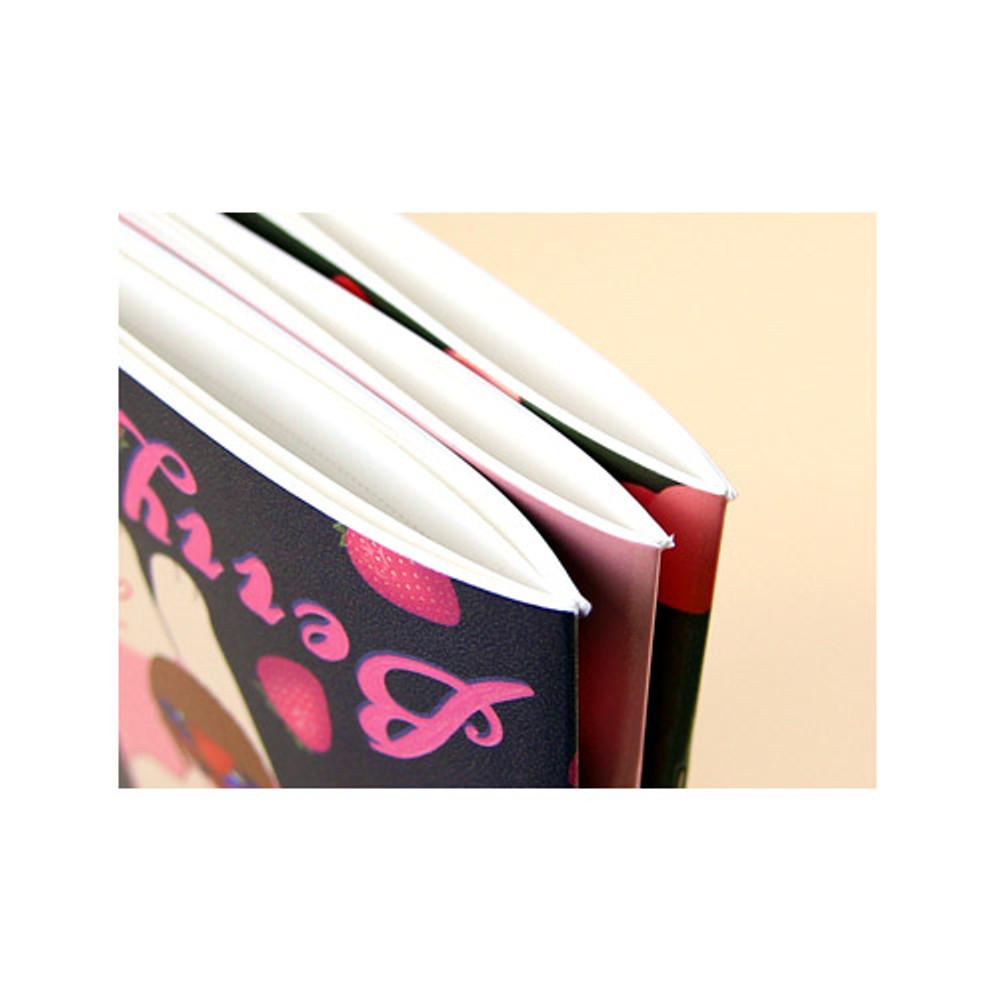 Detail of Choo Choo play lined notebook