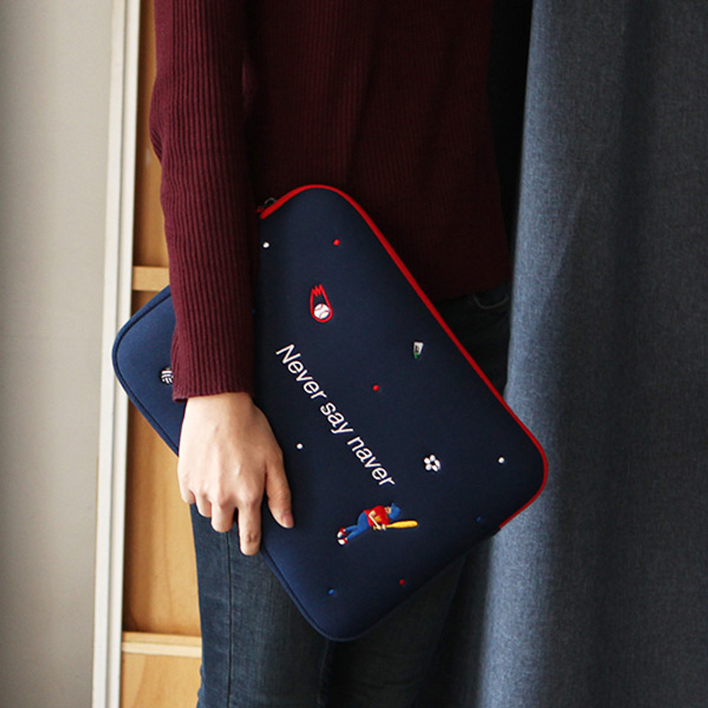 Navy - Day Day 13 inches laptop pouch case
