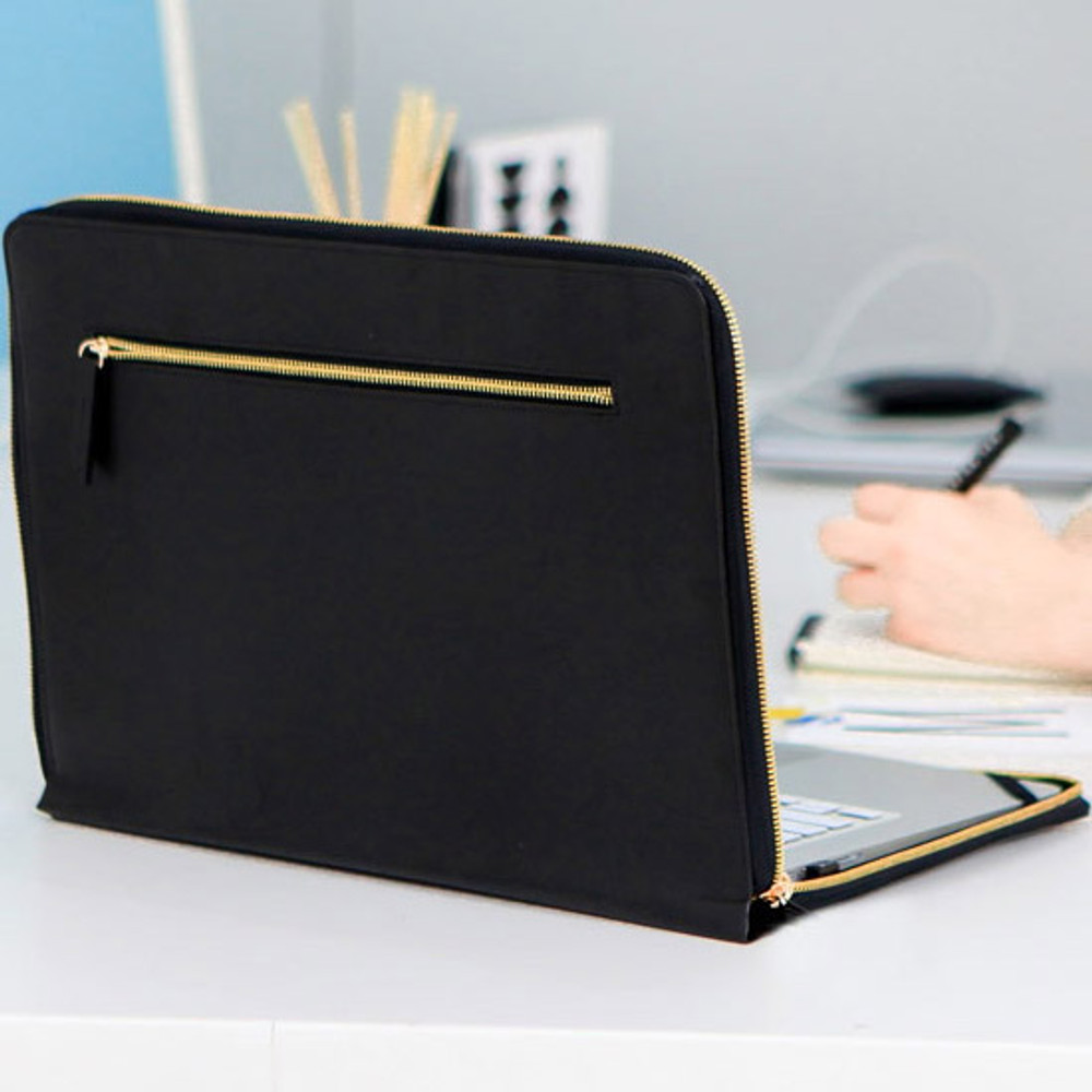 Black - Think about W 13 inches edge laptop case