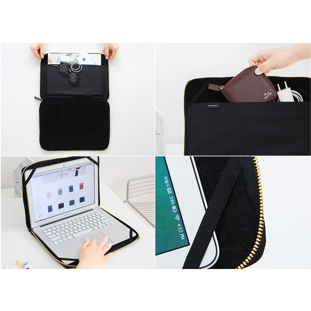 Detail of Think about W 13 inches edge laptop case