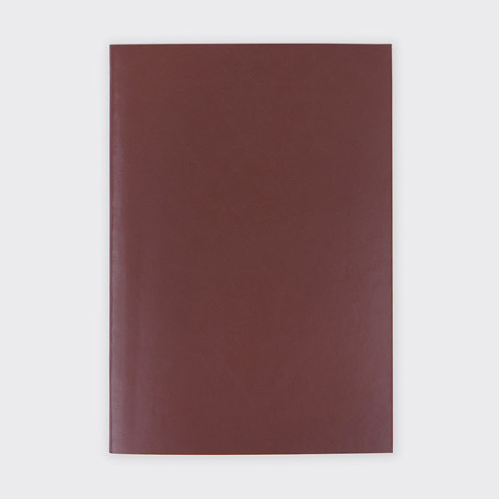 Red bean - Note me tender plain notebook