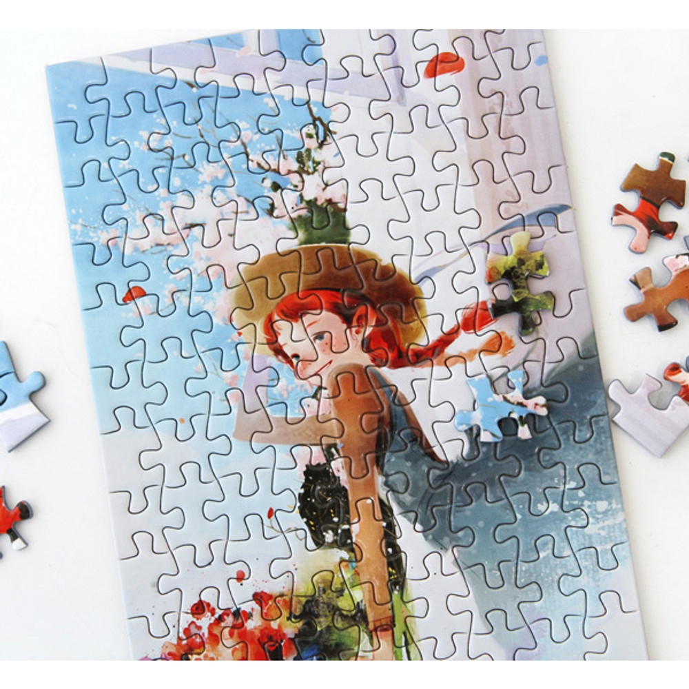 Anne of classic story 108 piece jigsaw puzzle - Blue