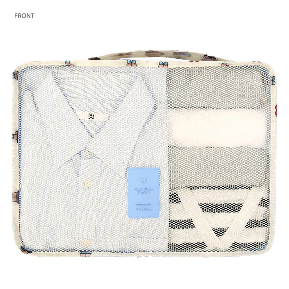 Front - Line friends travel bag packing organizer