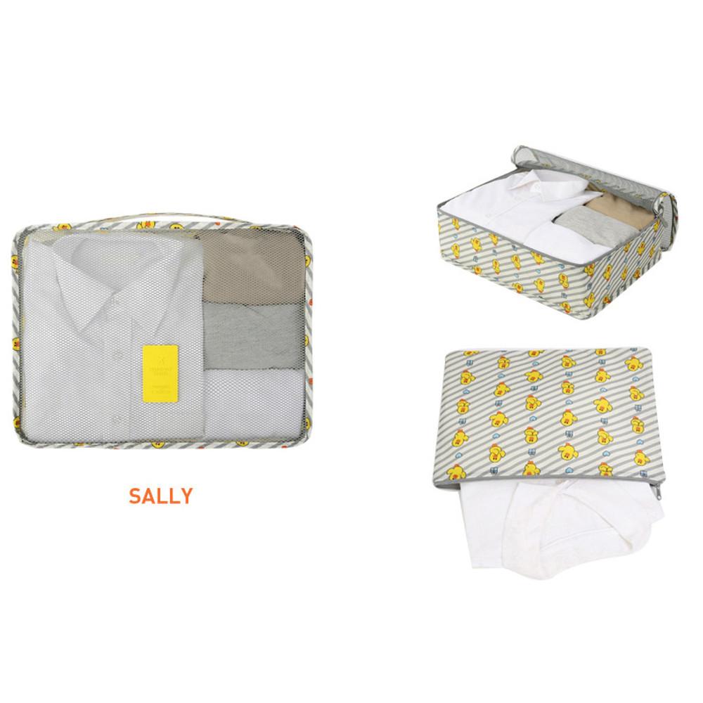 Sally - Line friends large travel mesh bag packing organizer