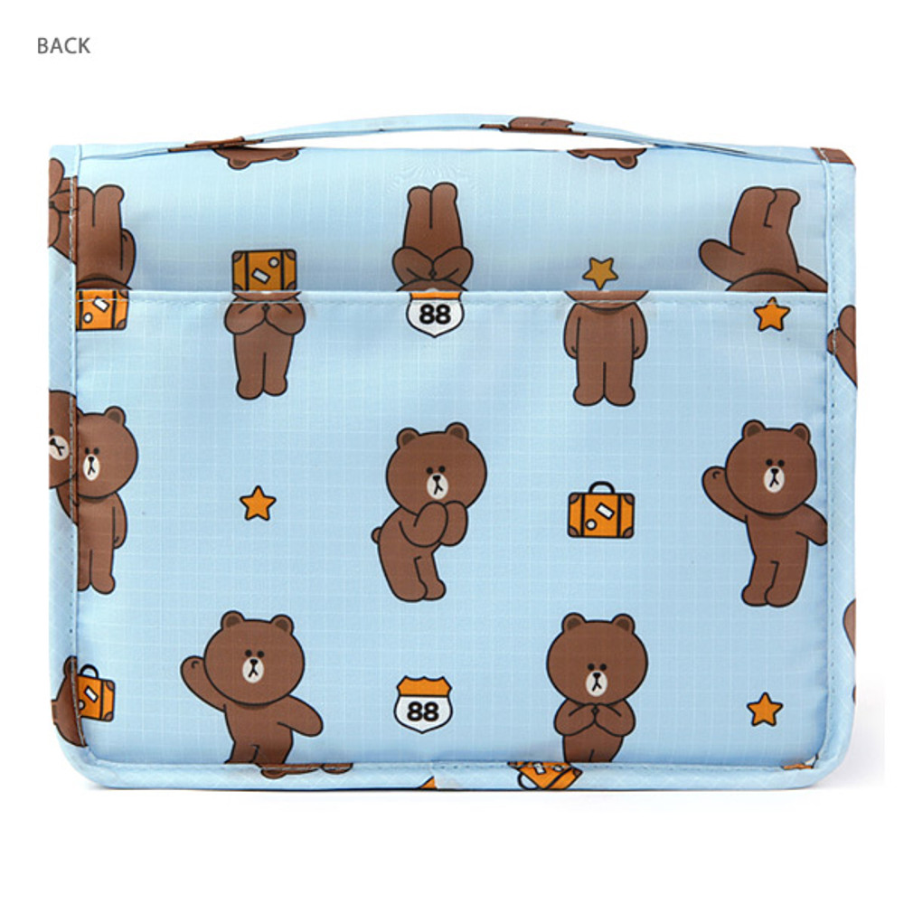 Back - Line friends travel hanging toiletry pouch bag