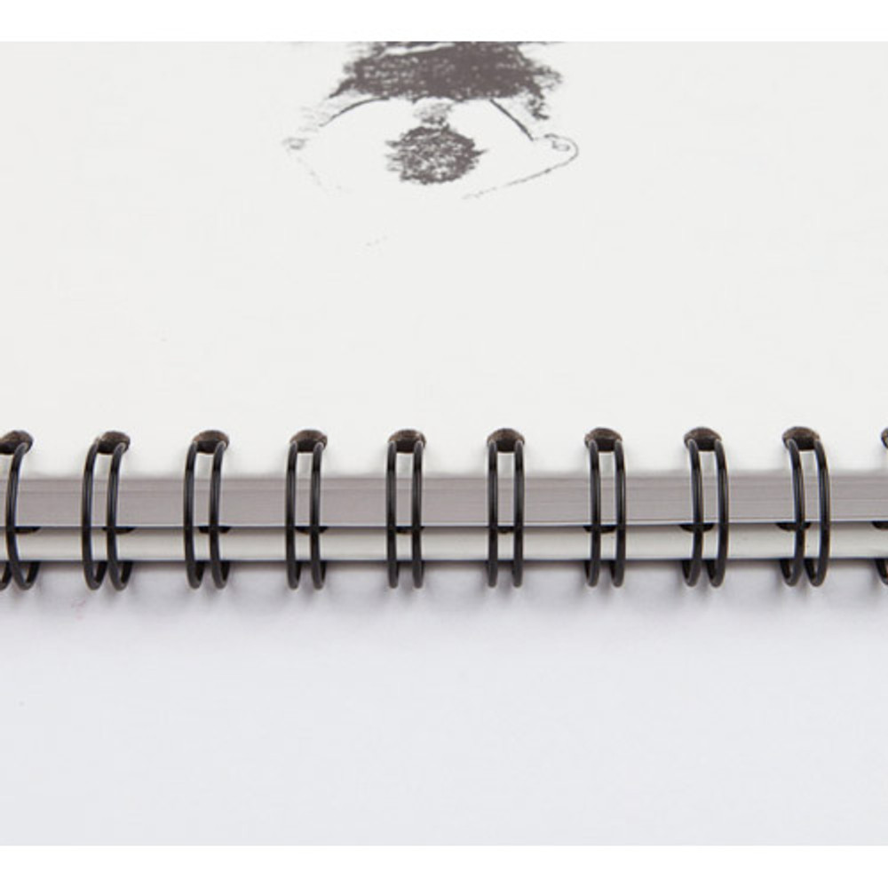 Spiral bound - Above the sea spiral A4 size drawing notebook