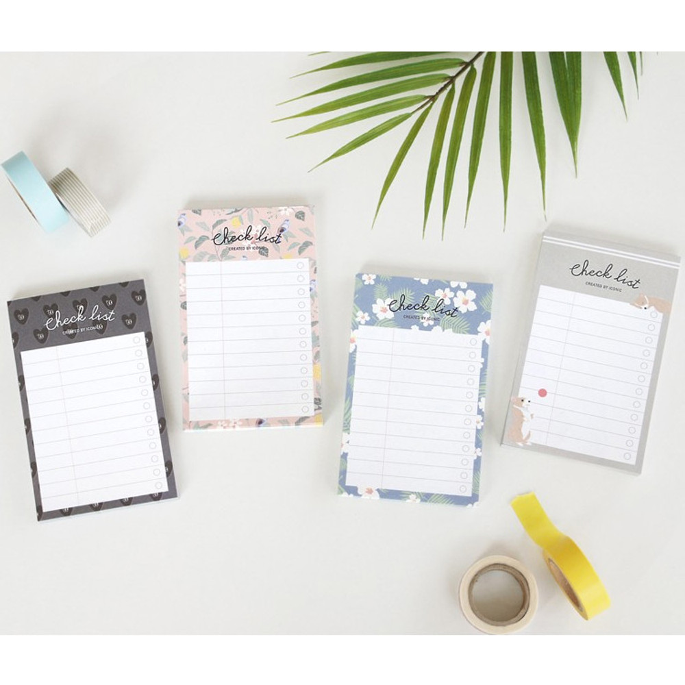 Becoming pattern checklist notepad