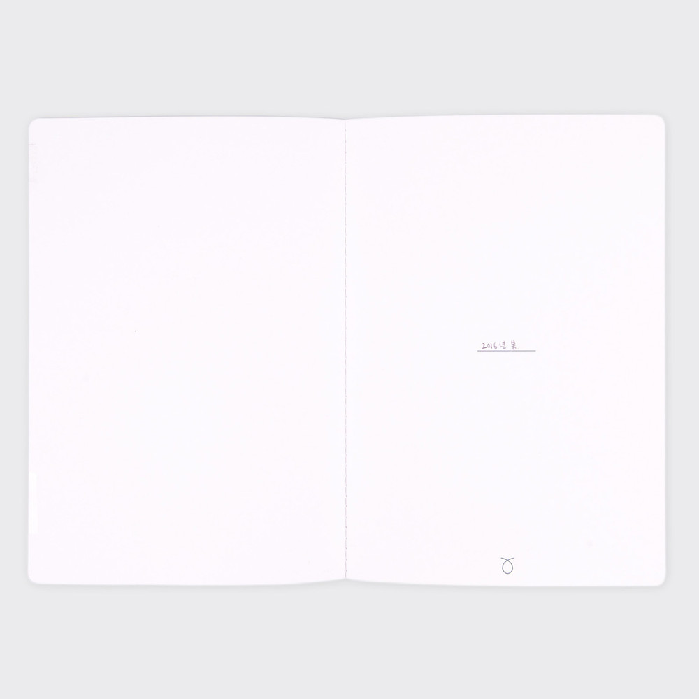 Silent conversation 7 square section A5 notebook