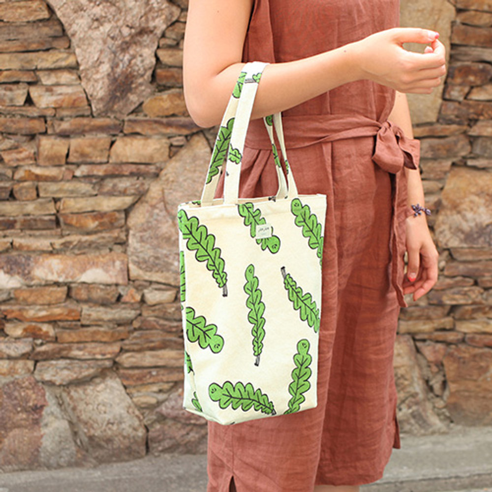 Foliage - Jam Jam pattern small tote bag
