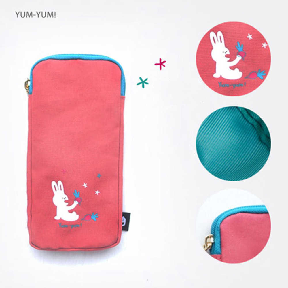 Yum-Yum - Hey buddy soft flat pencil case
