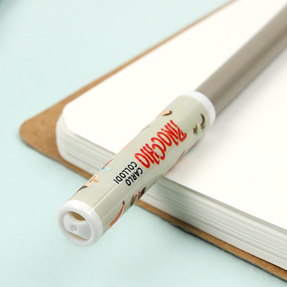 Detail of World literature pencil cap set