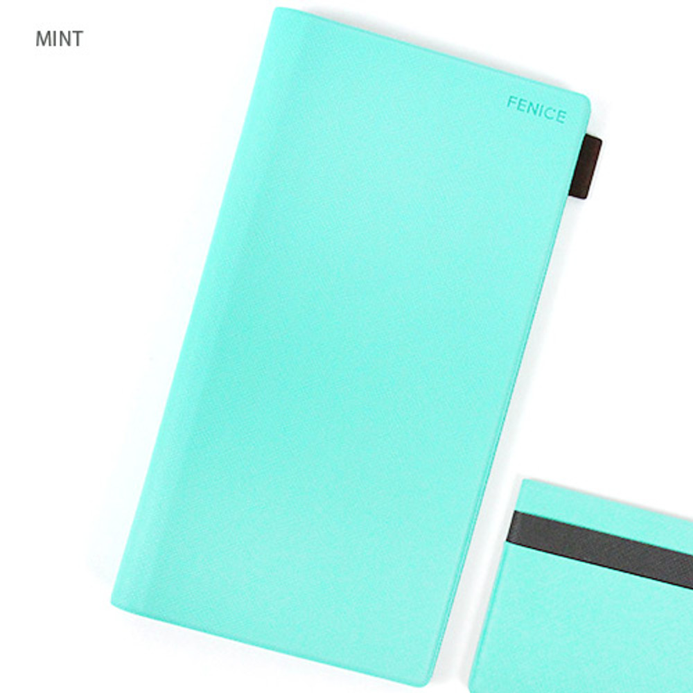 Premium business small notebook and pen holder