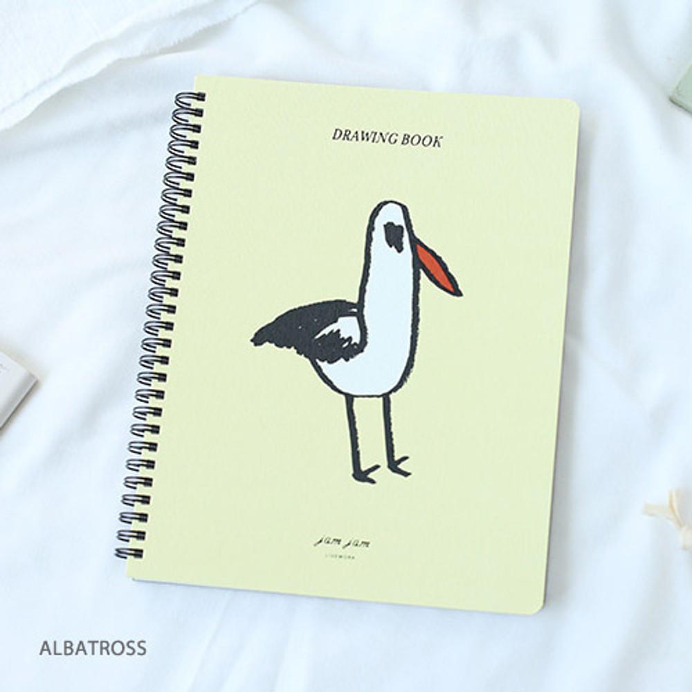 Albatross - Jam Jam spiral drawing notebook