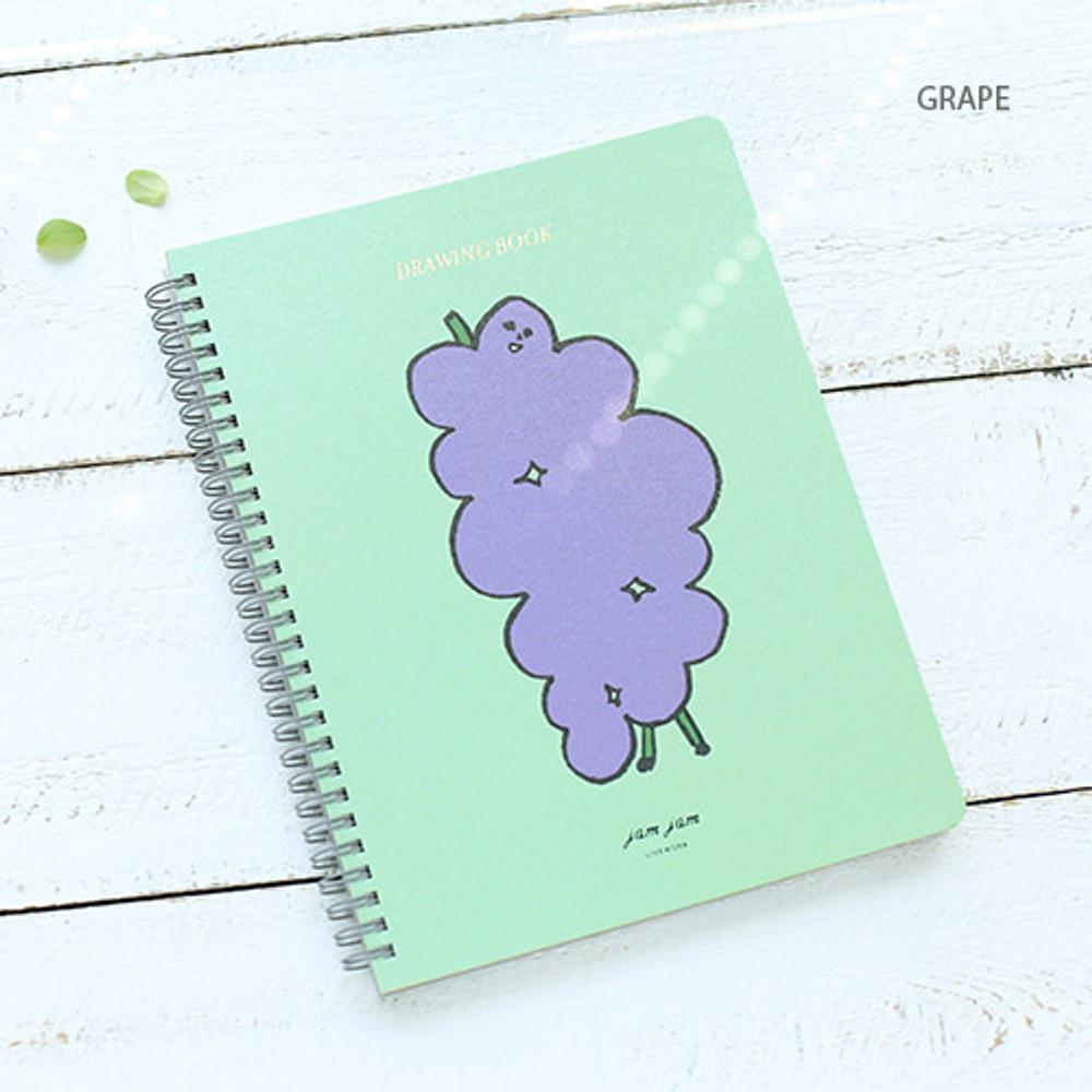 Jam Jam spiral drawing notebook