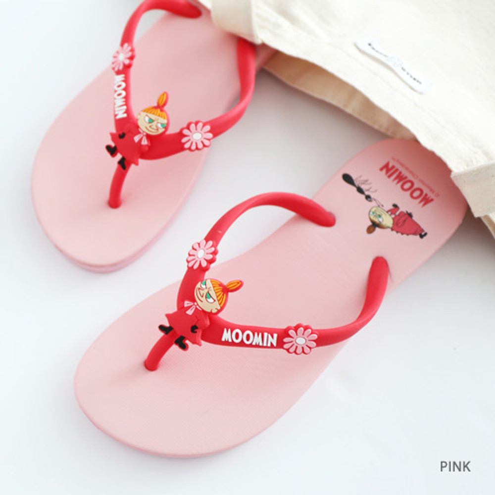 Little my - Moomin women's flip flop
