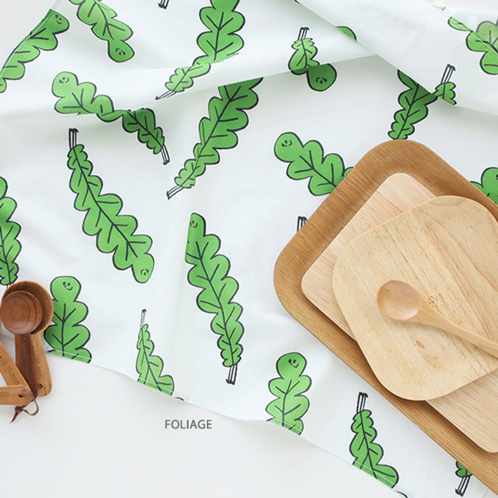 Foliage - Jam Jam pattern hankie handkerchief