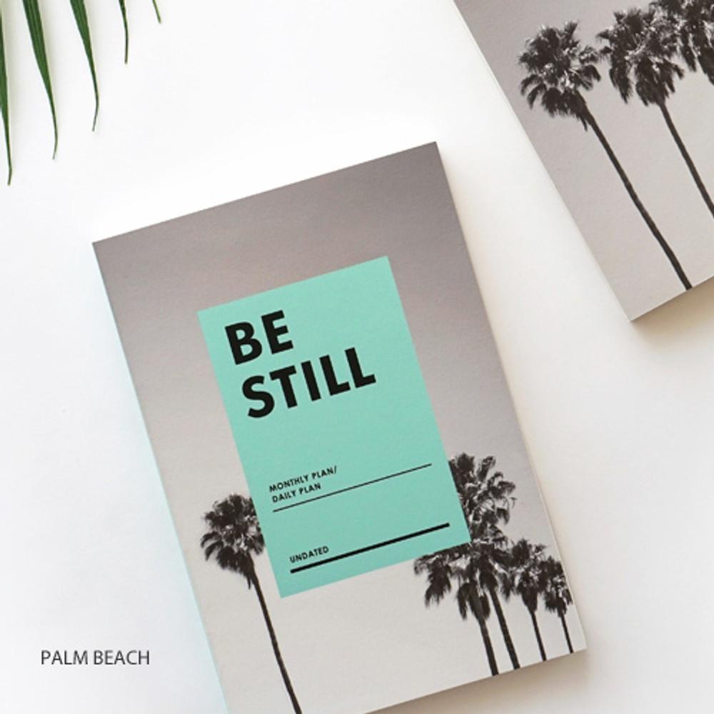 Palm beach - Be still undated daily planner