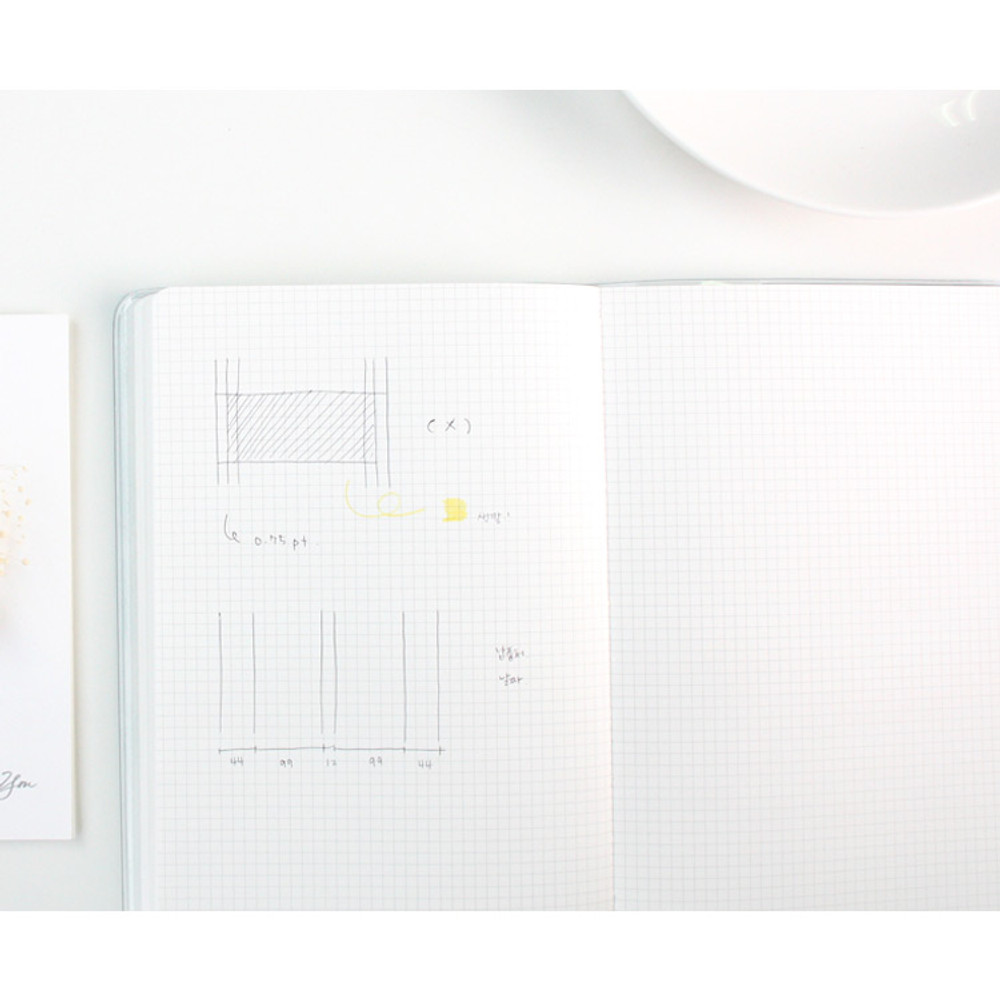 Grid note - 2018 Spring come pattern dated monthly planner