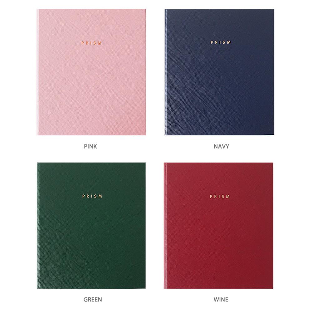 Colors of Prism instax mini slip in photo album