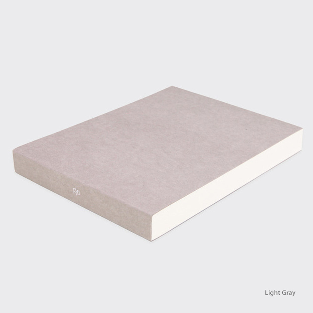 Light gray - Spring feelings large drawing notebook