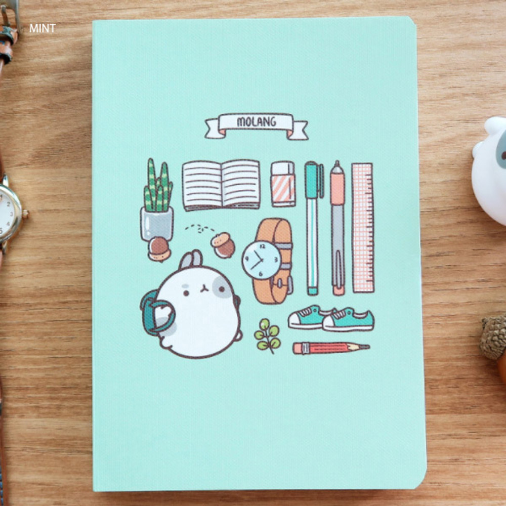 Mint - Molang undated weekly diary agenda