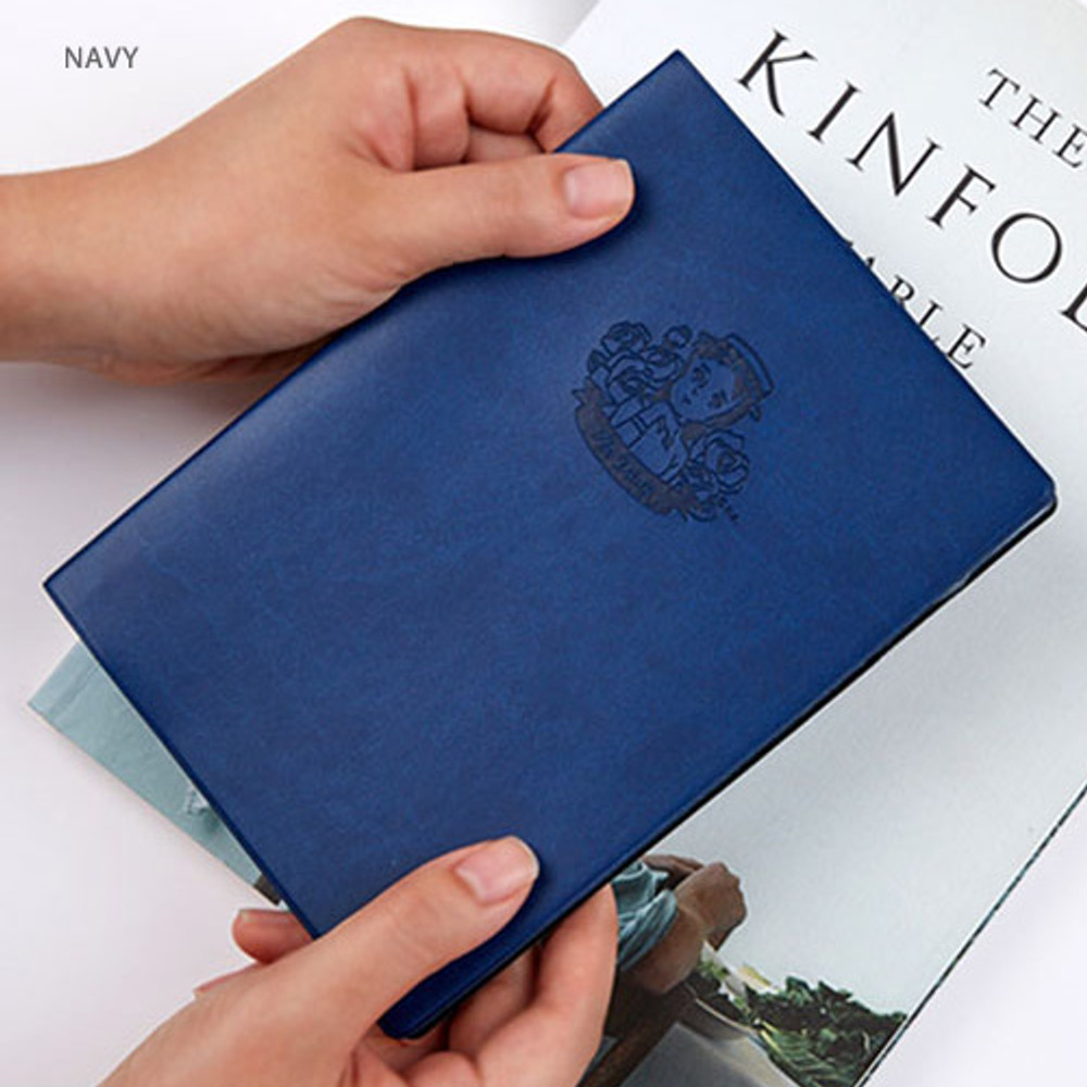 Navy - Anne of green gables undated monthly planner
