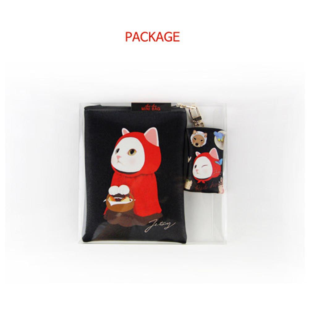 Package for Choo Choo cat small crossbody bag