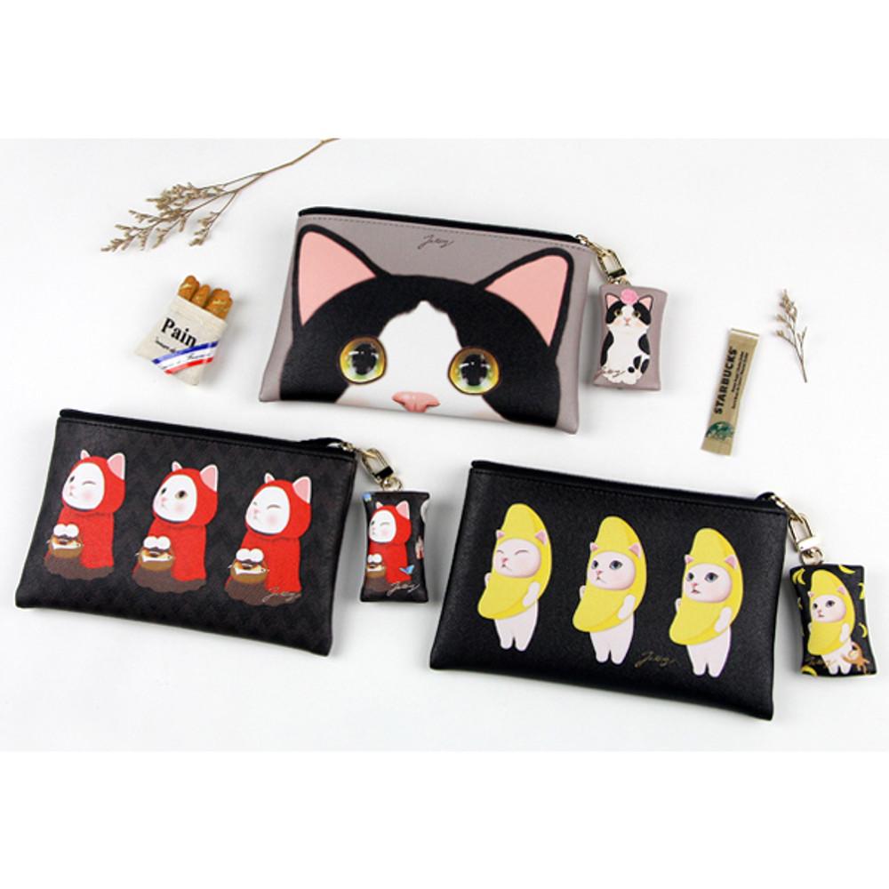 Choo Choo cat petit small shoulder bag