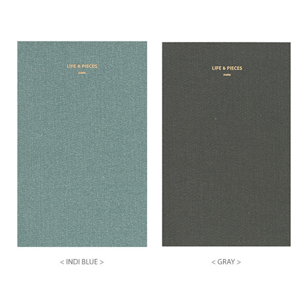 Colors of Life and pieces simple lined notebook