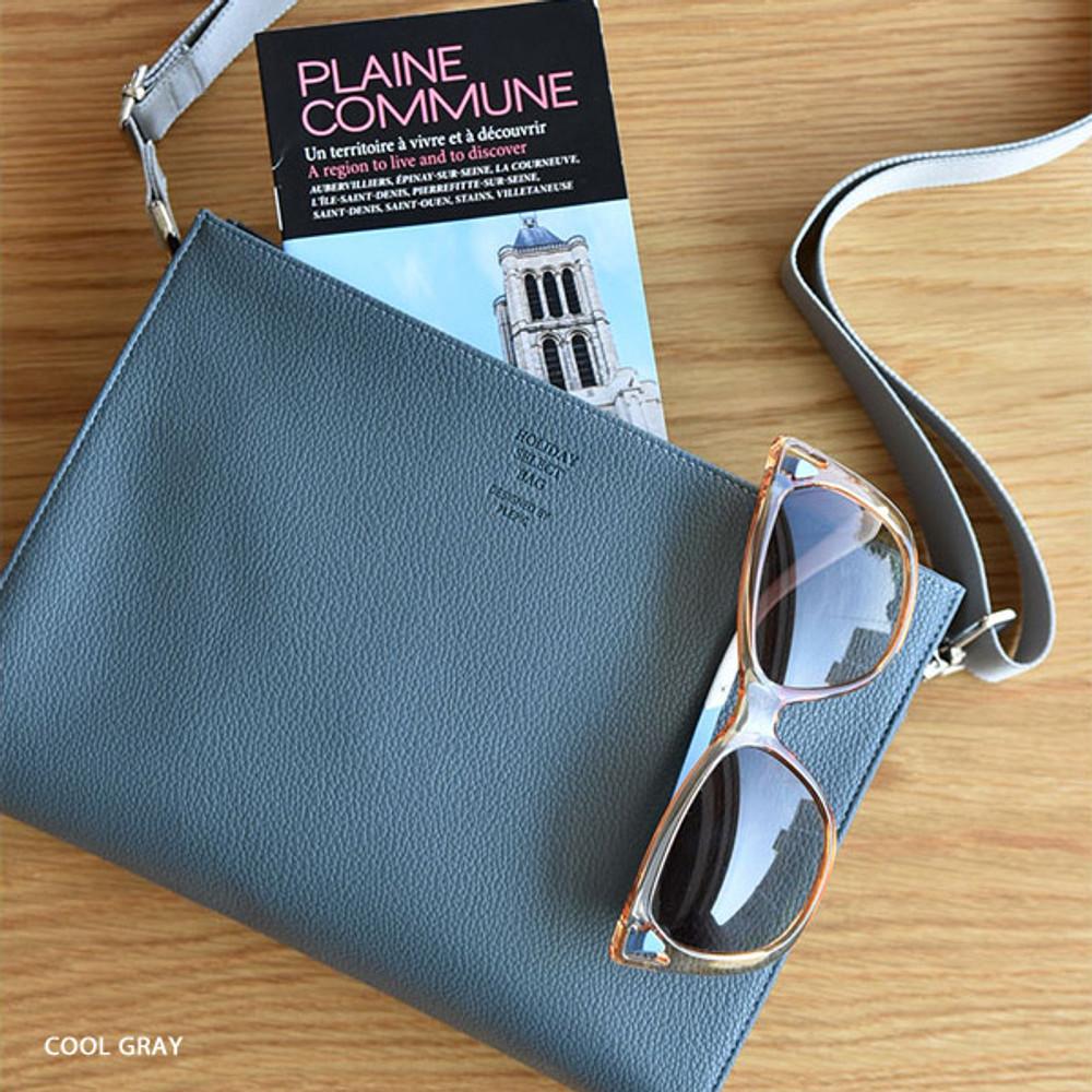 Cool gray - Holiday select cross shoulder bag