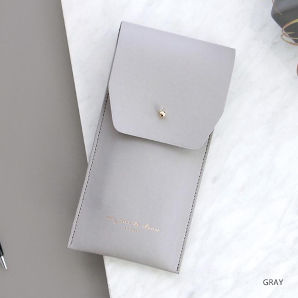 Gray -  Un jour de chance pocket pencil case