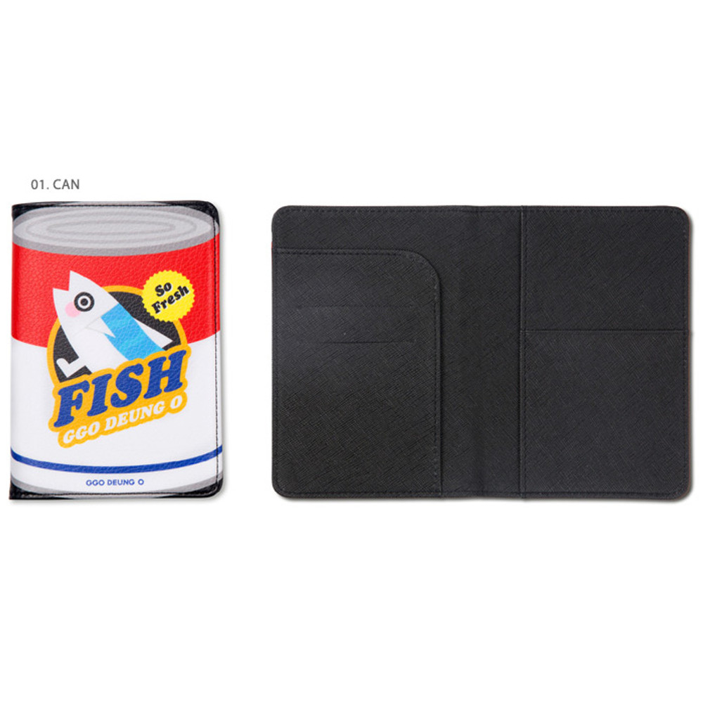 Can -  Ggo deung o RFID blocking passport case