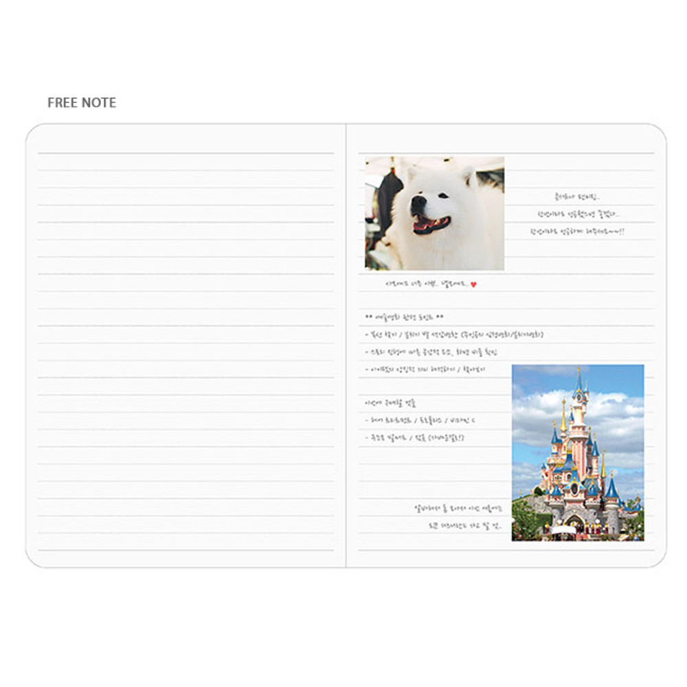 Free note - Pleple Better than today 1 month undated daily planner agenda