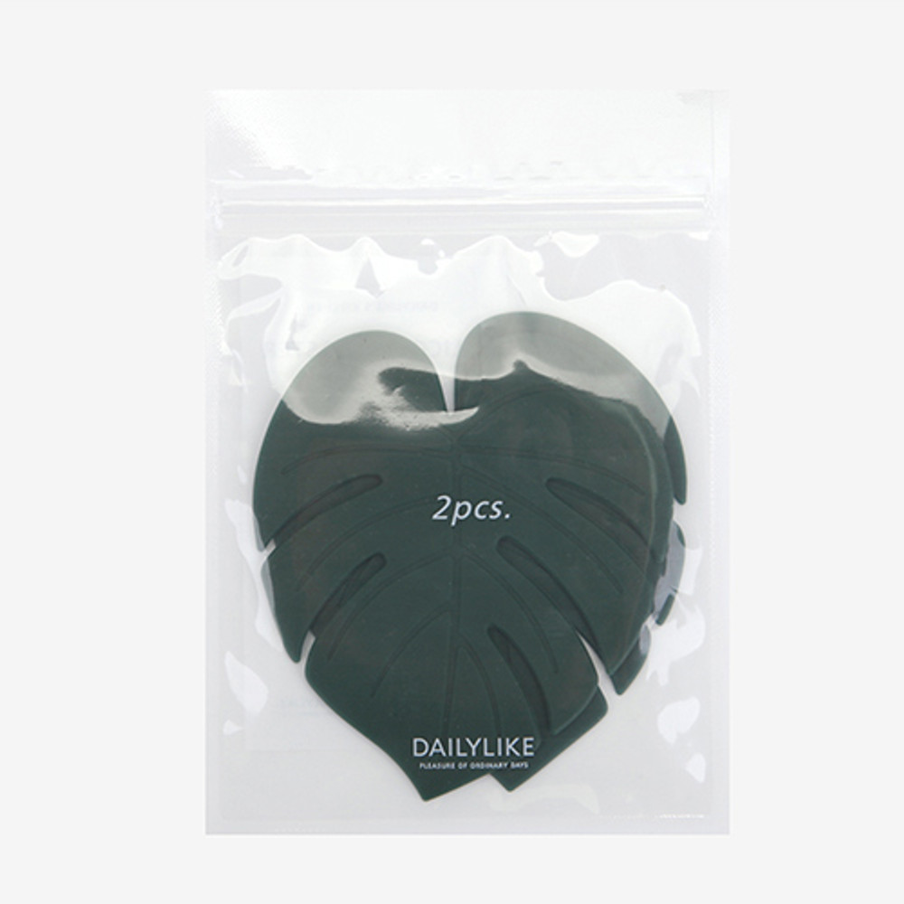 Monstera package - Dailylike Enjoy your kitchen silicon drink coaster set