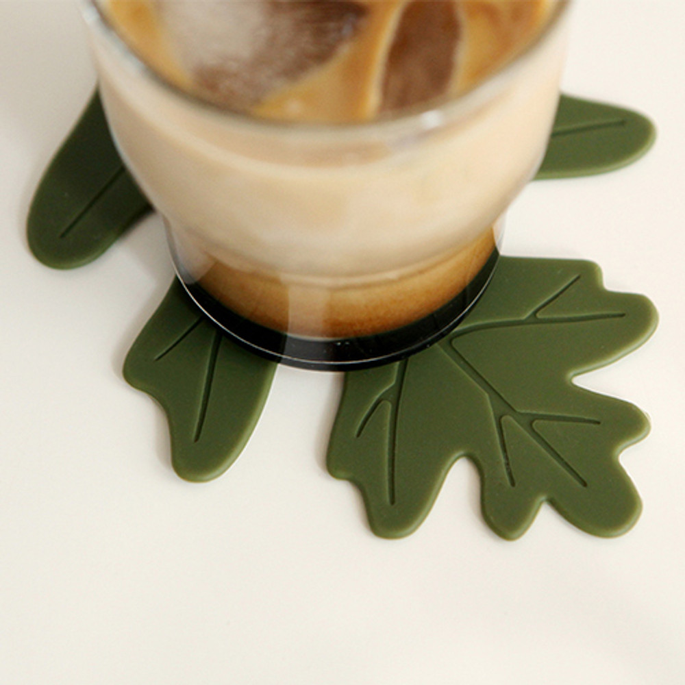 Dailylike Enjoy your kitchen silicon drink coaster set