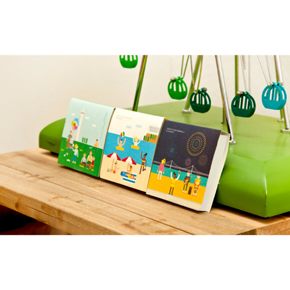 DESIGN IVY Graphic busan sticky memo note