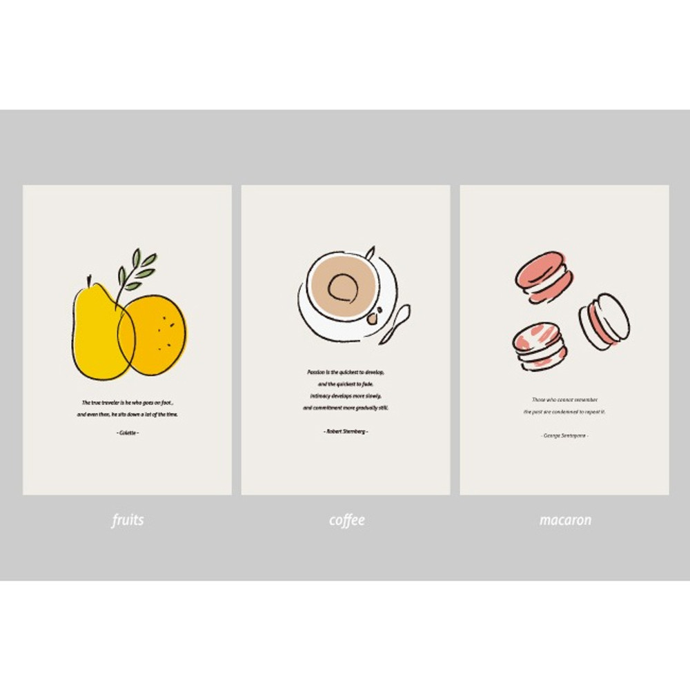 Option - Dash and Dot Ordinary illustration message postcard