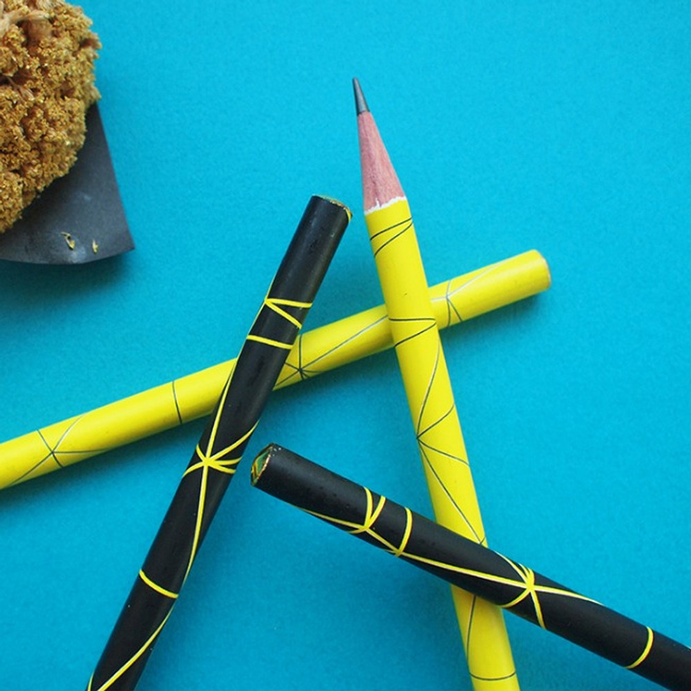 Hello Today Modern design B black lead pencil set of 4