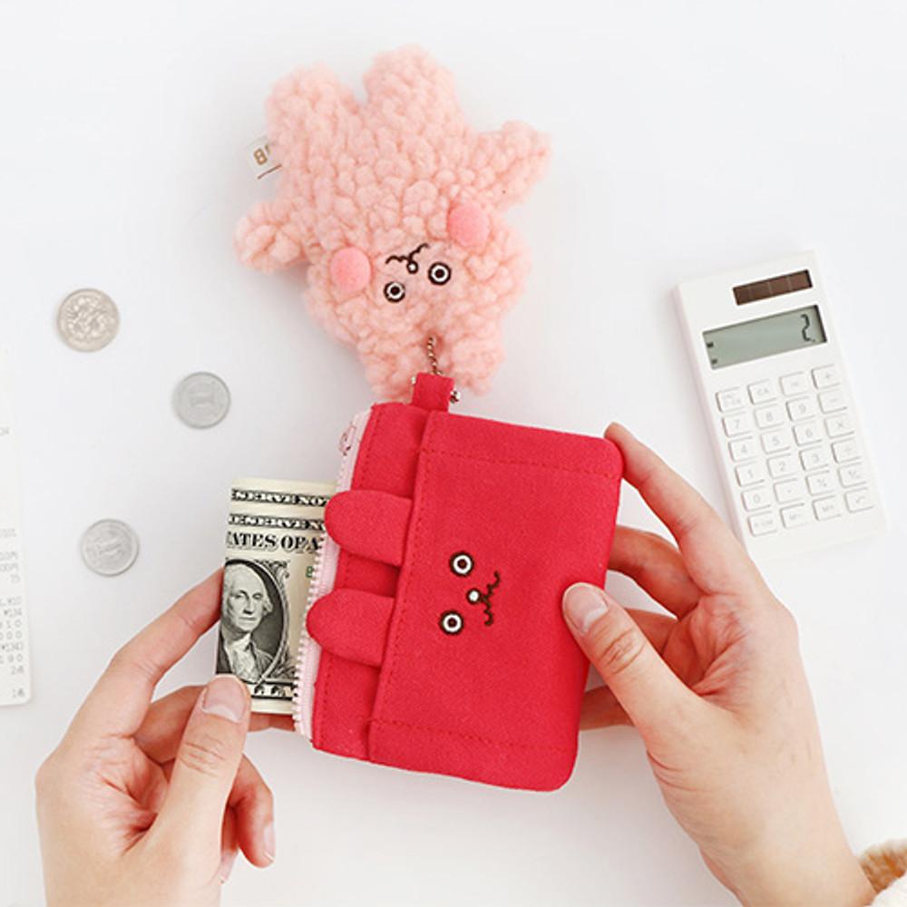 Brunch bunny - Brunch brother doll zipper card case