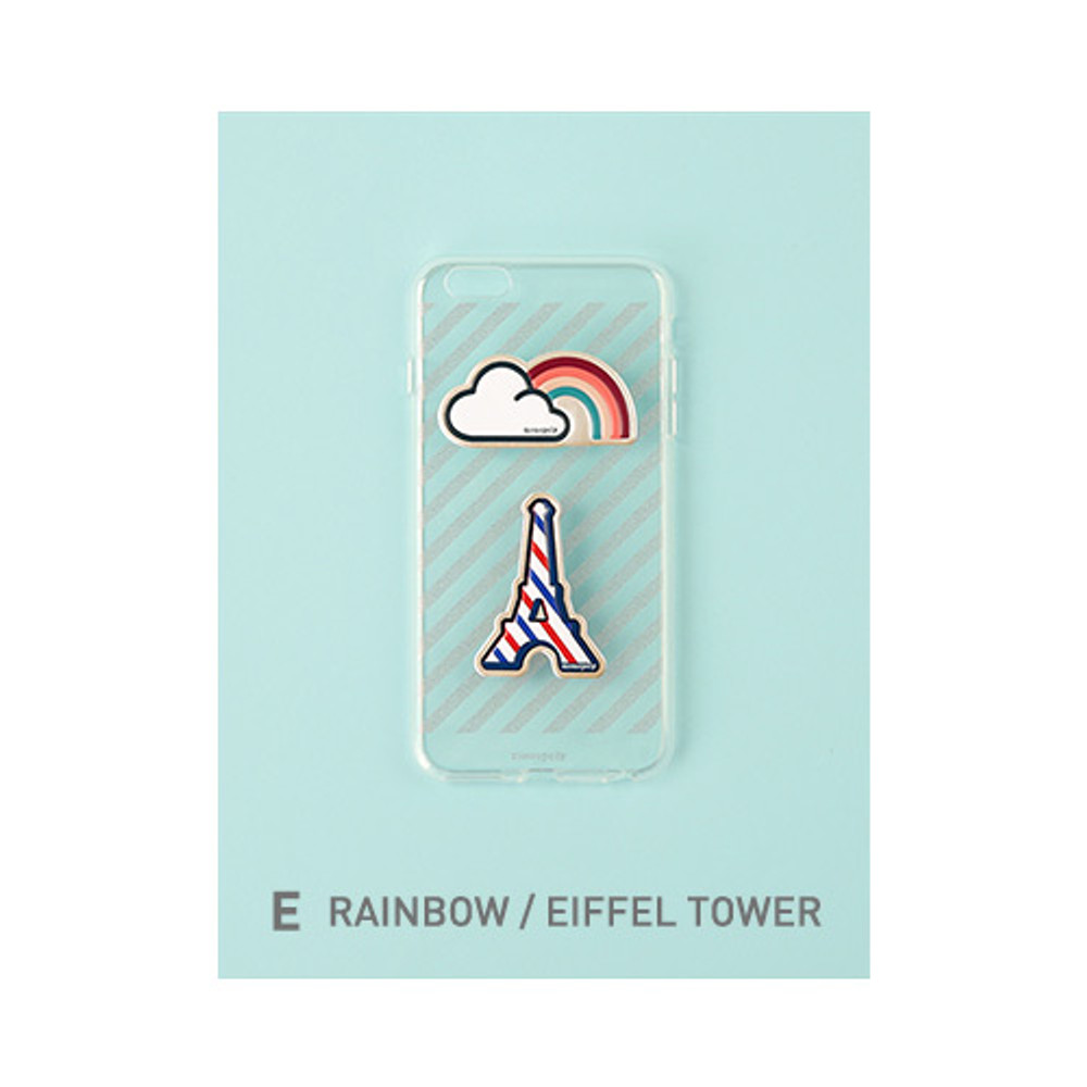 E - rainbow, Eiffel tower