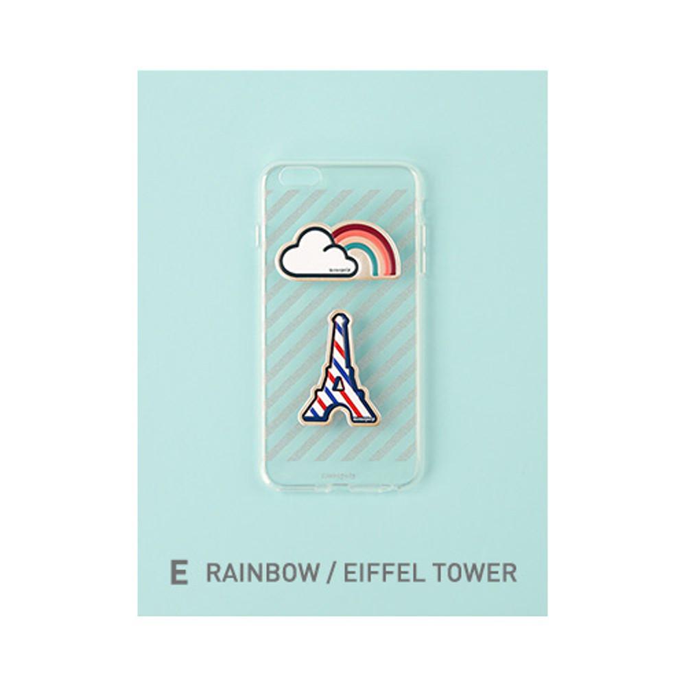 E - Rainbow, Eiffel tower