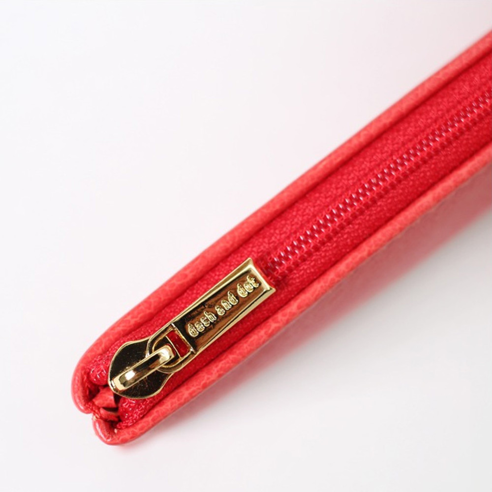 zipper - Dash and Dot Slim and modern zipper pencil case