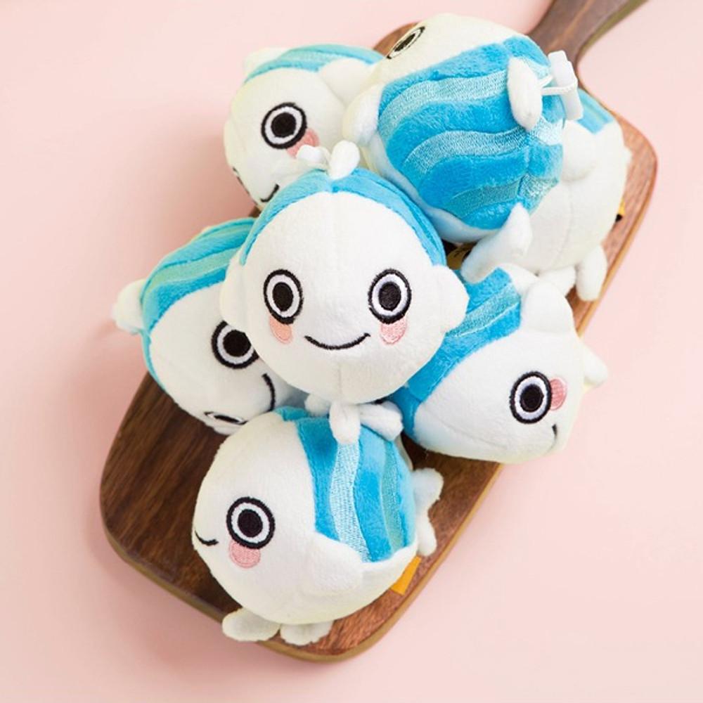 Ggo deung o small soft plush fish doll