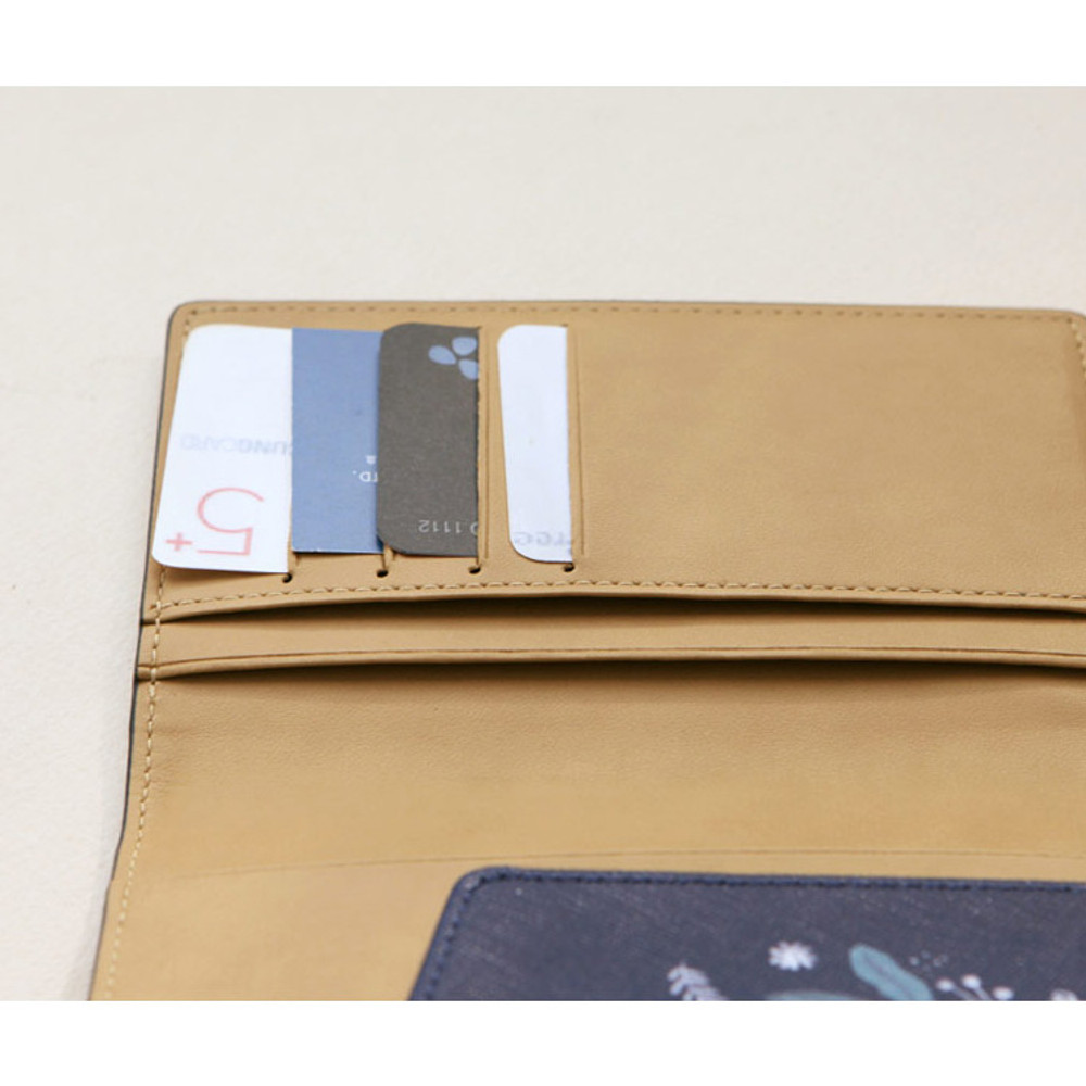 Detail of Rim with you pattern passport cover case holder