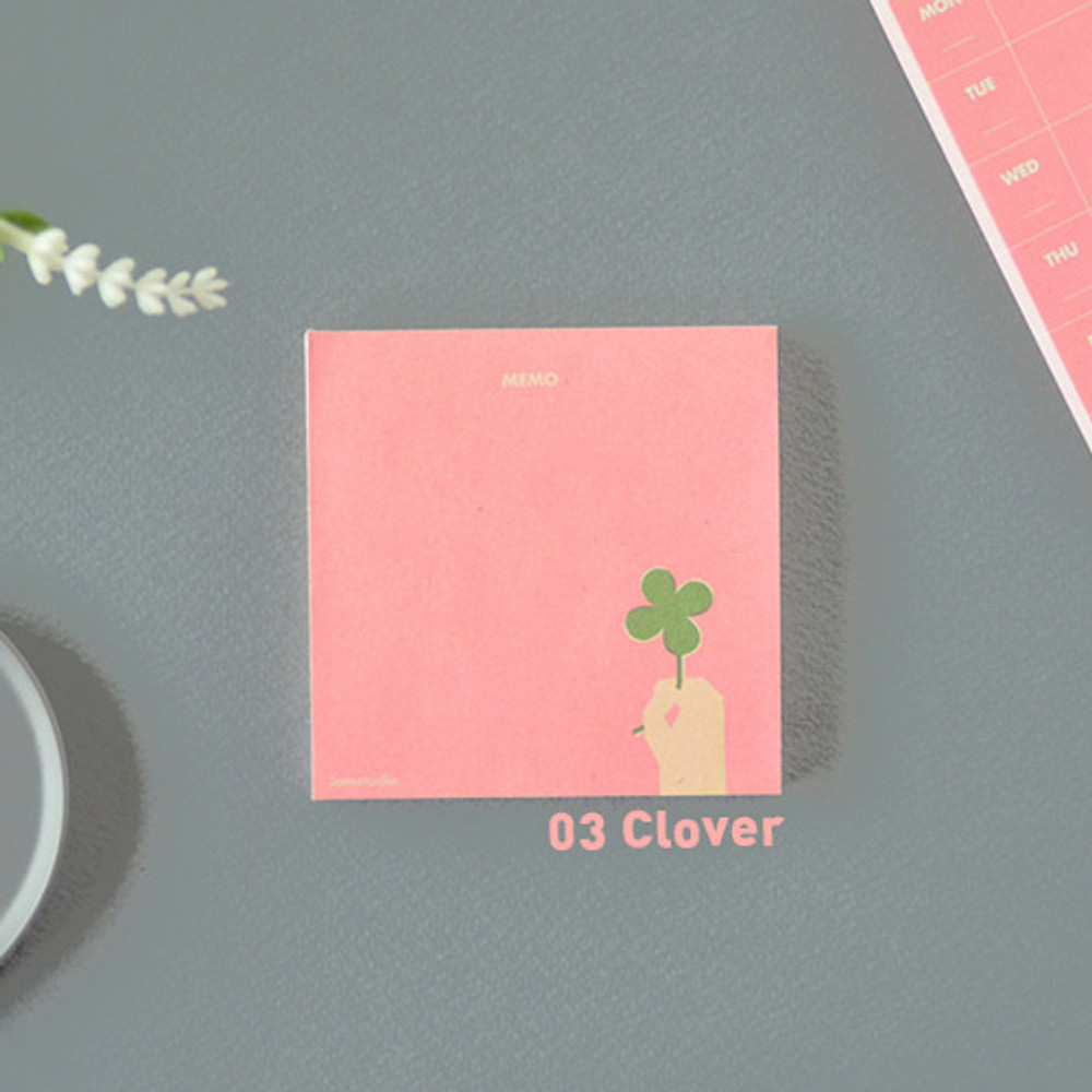 Clover - Jam studio Jam memo notepad