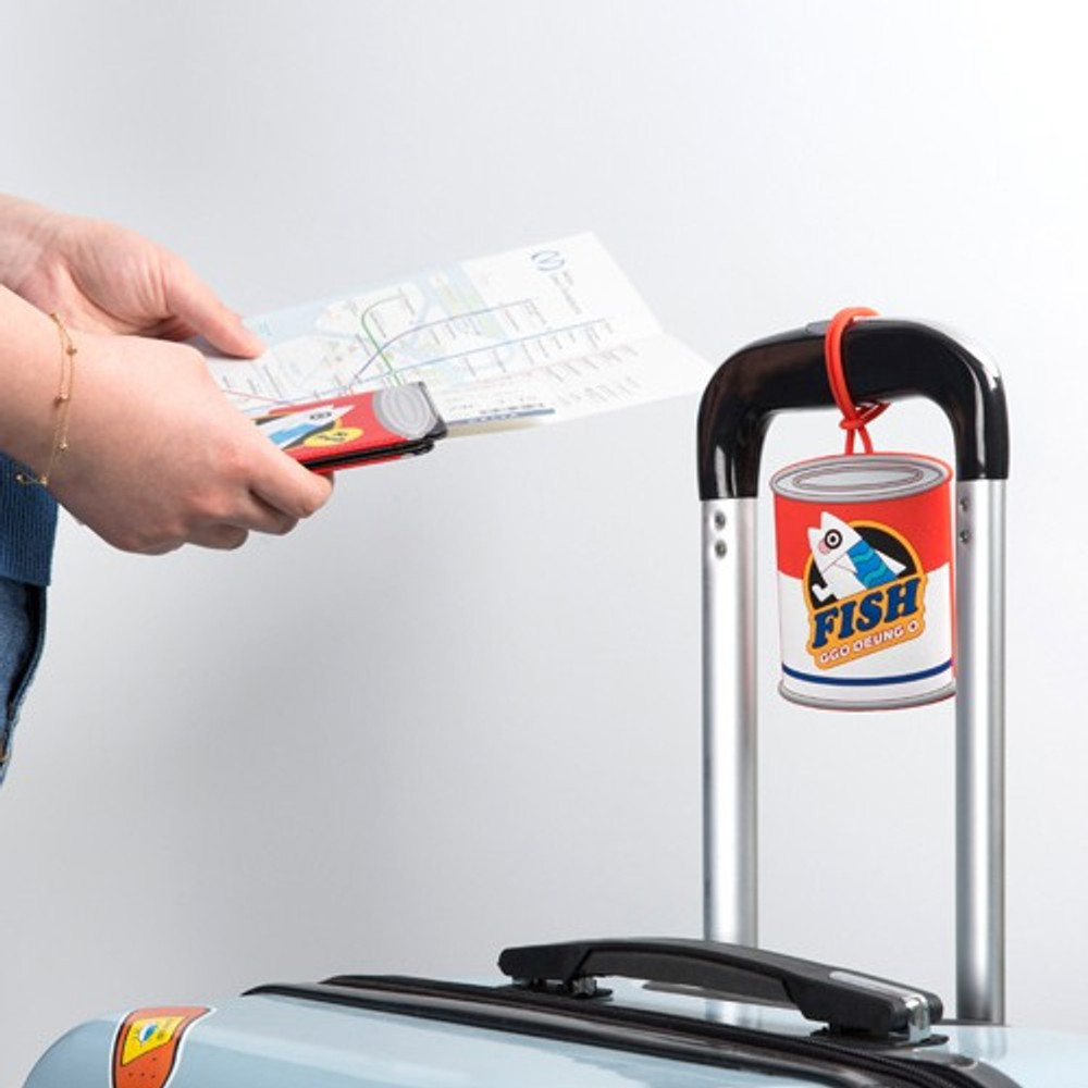 DESIGN IVY Ggo deung o travel luggage name tag